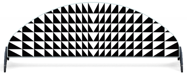 Fillers > Half Moon Filler > Triangles