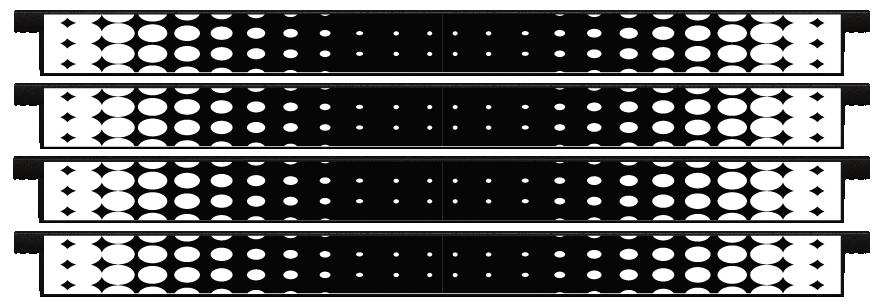 Planks > Straight Plank x 4 > Spots Faded