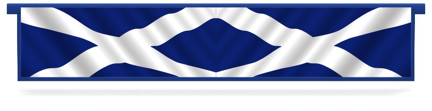 Fillers > Hanging Solid Filler > Scottish Flag