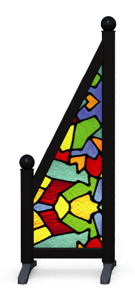 Wing > Sloping Printed > Stained Glass
