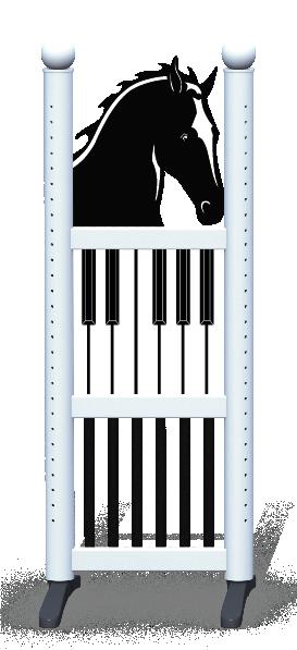 Wing > Combi Horse Head > Piano Keys