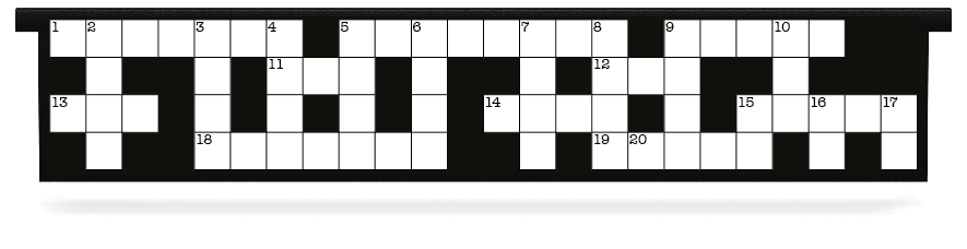 Fillers > Hanging Solid Filler > Crossword