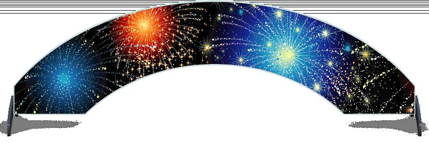 Fillers > Arch Filler > Fireworks