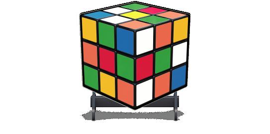 Fillers > Cube Filler > Rubiks Cube
