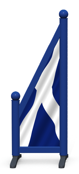 Wing > Sloping Printed > Scottish Flag