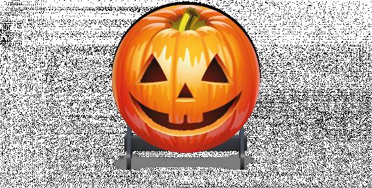 Fillers > Round Filler > Halloween Happy