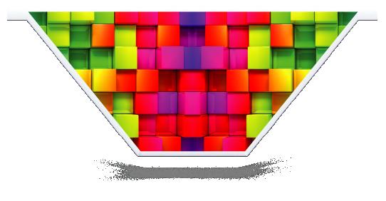 Fillers > V Filler > Rainbow Cubes