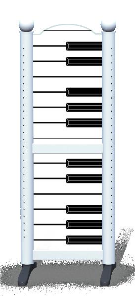 Wing > Combi H > Piano Keys