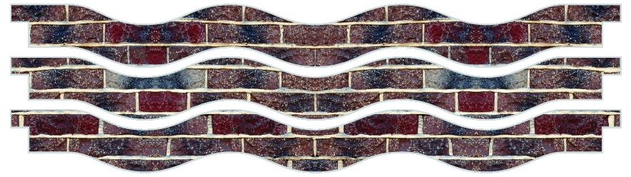 Planks > Wavy Plank x 3 > New Brick