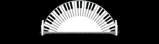 Fillers > Half Round Filler > Piano Keys