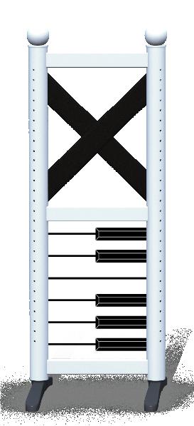 Wing > Combi F > Piano Keys