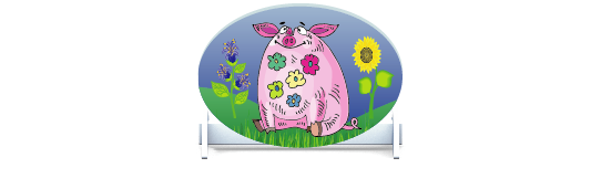 Fillers > Oval Filler > Pigs