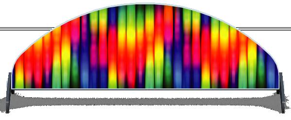 Fillers > Half Moon Filler > Rainbow Tubes