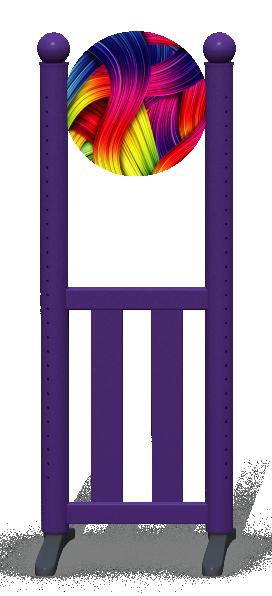 Wing > Combi Round > Rainbow Ribbons