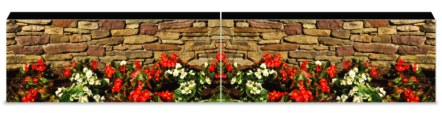 Fillers > Puissance Wall > Flowerbed Wall