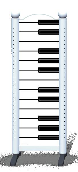 Wing > Combi M > Piano Keys
