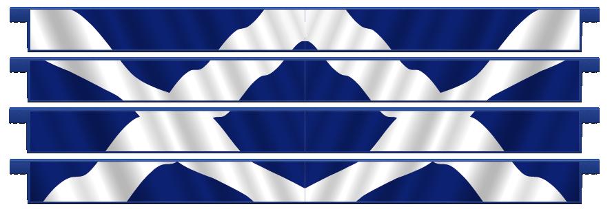 Planks > Straight Plank x 4 > Scottish Flag