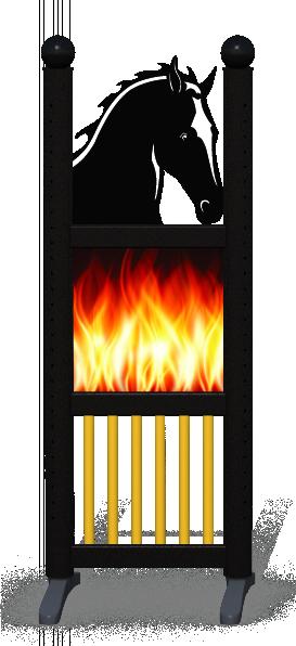 Wing > Combi Horse Head > Fire