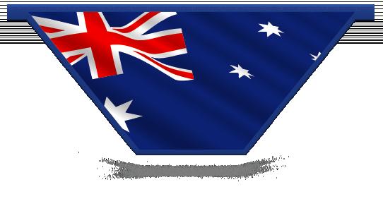 Fillers > V Filler > Australian Flag