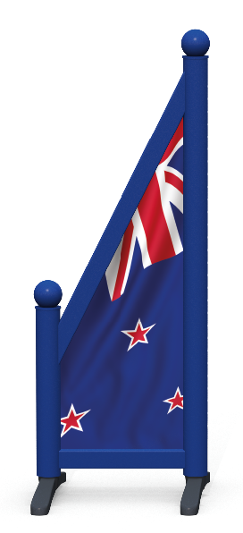 Wing > Sloping Printed > New Zealand Flag