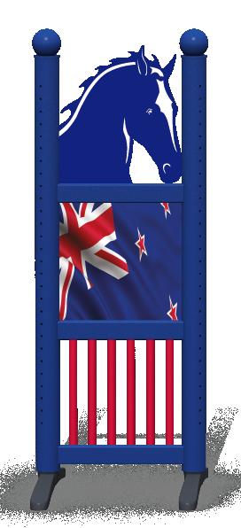 Wing > Combi Horse Head > New Zealand Flag