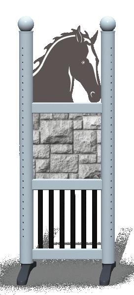 Wing > Combi Horse Head > Pillar Brick