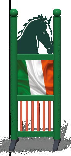 Wing > Combi Horse Head > Irish Flag