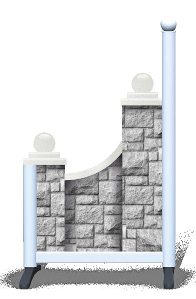 Wing > Pillar Wall