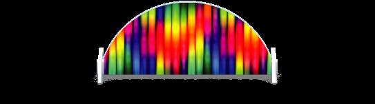 Fillers > Half Round Filler > Rainbow Tubes