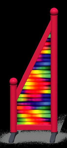 Wing > Sloping Printed > Rainbow Tubes