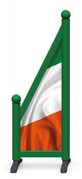 Wing > Sloping Printed > Irish Flag