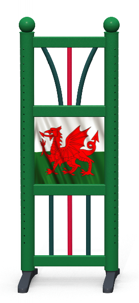 Wing > Combi D > Welsh Flag