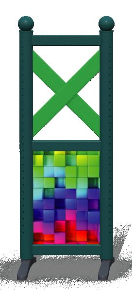Wing > Combi F > Rainbow Cubes