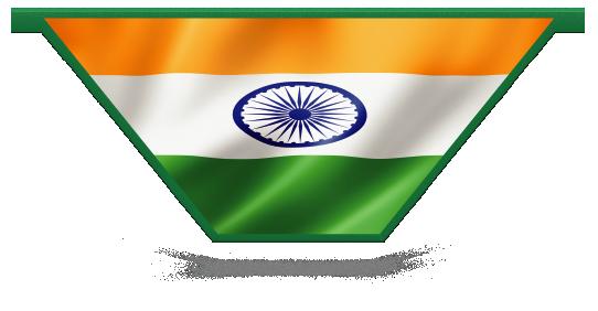 Fillers > V Filler > Indian Flag