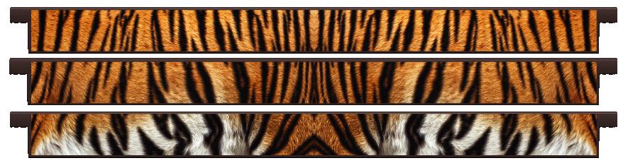 Planks > Straight Plank x 3 > Tiger Skin