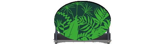 Fillers > Oval Filler > Jungle