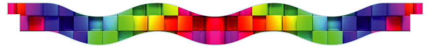 Planks > Wavy Plank > Rainbow Cubes