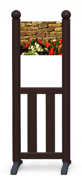 Wing > Combi K > Flowerbed Wall