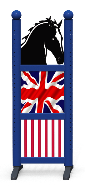 Wing > Combi Horse Head > United Kingdom Flag