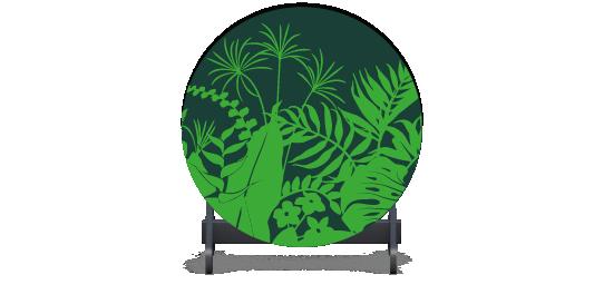 Fillers > Round Filler > Jungle