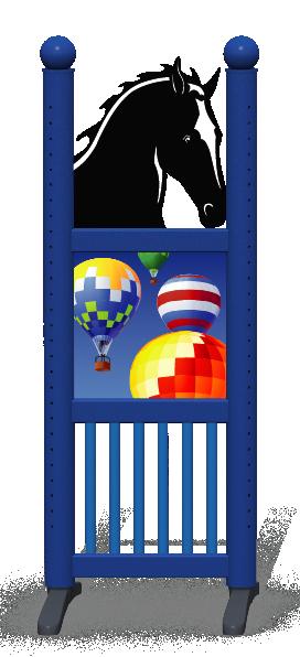 Wing > Combi Horse Head > Hot Air Balloons