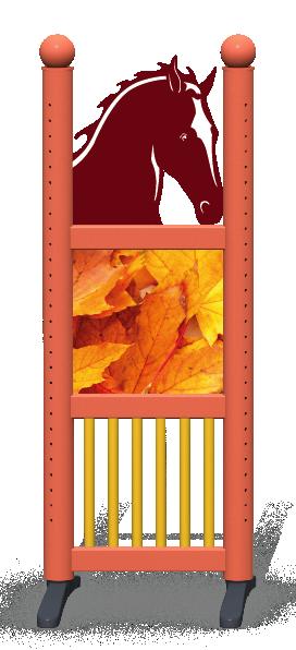 Wing > Combi Horse Head > Autumn Leaves