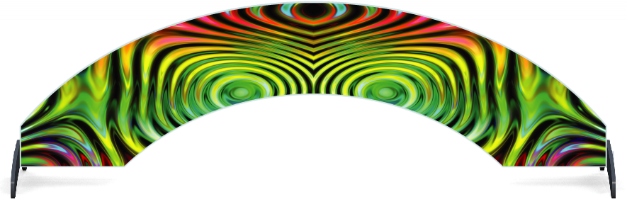 Fillers > Arch Filler > Colourful Ripples