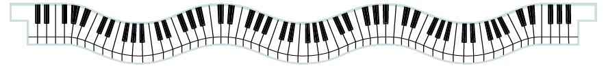 Planks > Wavy Plank > Piano Keys