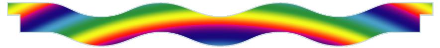 Planks > Wavy Plank > Rainbow