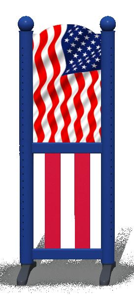 Wing > Combi L > American Flag