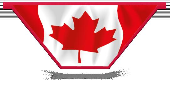Fillers > V Filler > Canadian Flag