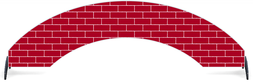 Fillers > Arch Filler > Full Brick