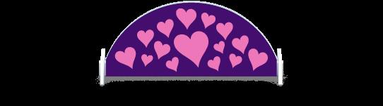 Fillers > Half Round Filler > Hearts