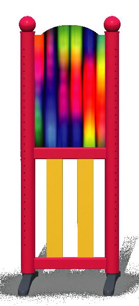 Wing > Combi L > Rainbow Tubes